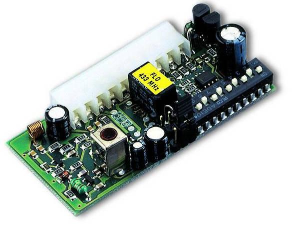 Приемник FLOXI 2R встраиваемый, 2-х канальный, динамический код Nice, фото 2