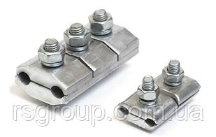 Зажим соединительный планшетный типа ПА 3-2 для сталеалюминиевых проводов