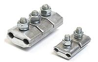 Зажим соединительный планшетный типа ПА 6-1 для сталеалюминиевых проводов