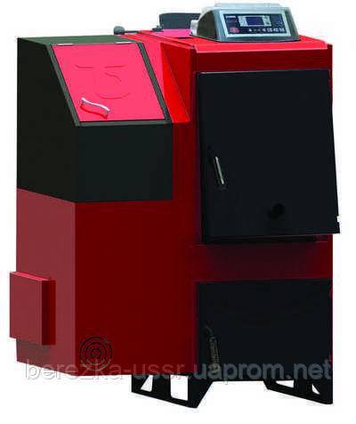 Твердотопливный пеллетный котел Termodinamik TBK/S-80 (93 кВт с возможностью ручной загрузки)