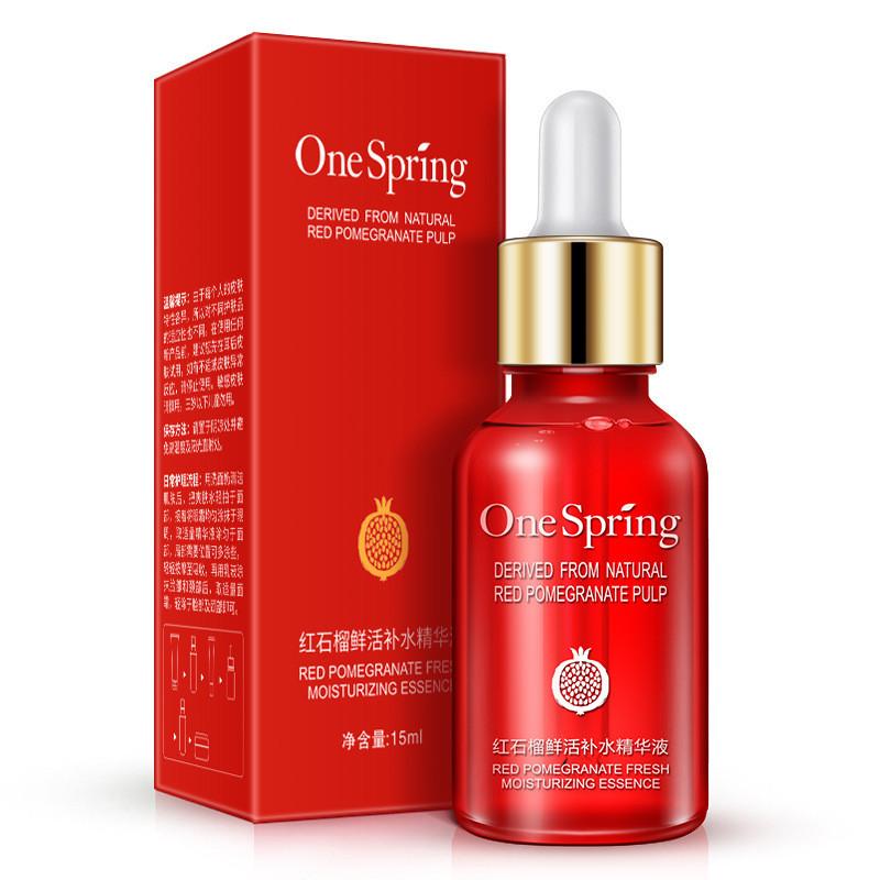 Сыворотка для лица с экстрактом граната One Spring Red Pomegranate Fresh Moisturizing Essence (15мл)