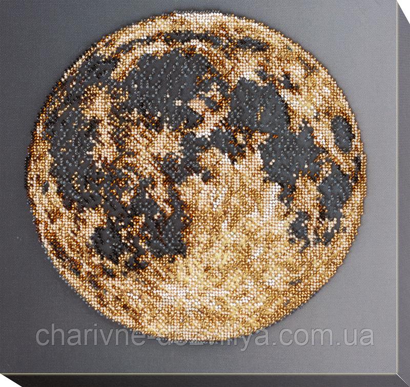 """Набор для вышивки бисером на холсте """"Луна"""""""