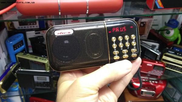 Радиоприемник Peryom M-63 (3 аккумулятора 18650)