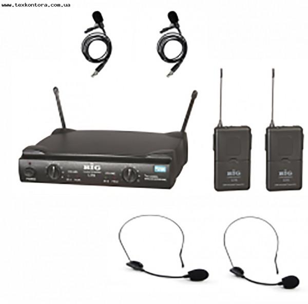 Головная микрофонная радиосистема 2 микрофона U59