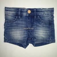 Шорти для дівчинки 080 см (9-12 months) синій  H&M 56733