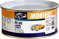 Автомобильная шпатлевка ПЭ (полиэфирная) со стекловолокном  Mobihel, 0,5 кг