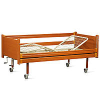 Кровать деревянная функциональная трёхсекционная OSD-94
