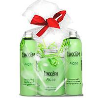 Женский набор BingoSpa шампунь+крем для ванны+гель для душа