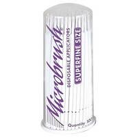 Микроаппликаторы короткие Microbrush Original - Super Fine 100шт/уп