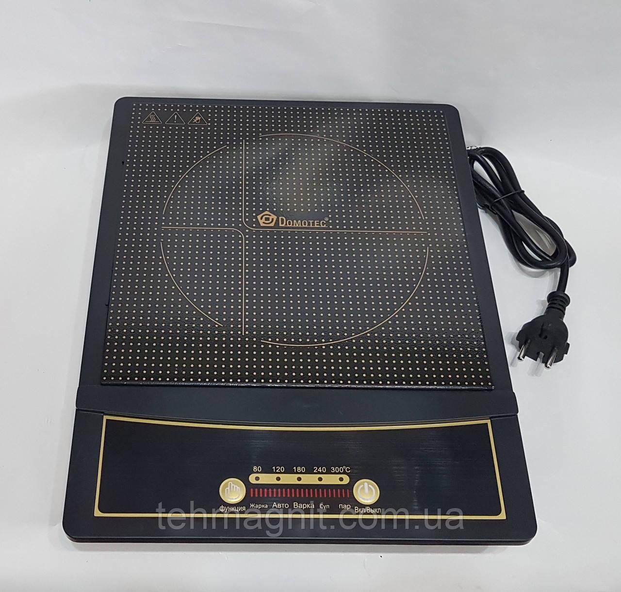 Індукційна електроплита настільна Domotec MS5832