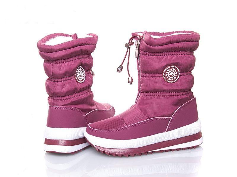 Дутики Jong-Golf детские розовые