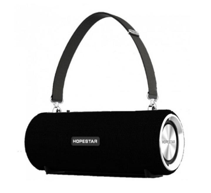 Портативная влагозащищенная Bluetooth колонка HopeStar H39  чёрная синяя красная