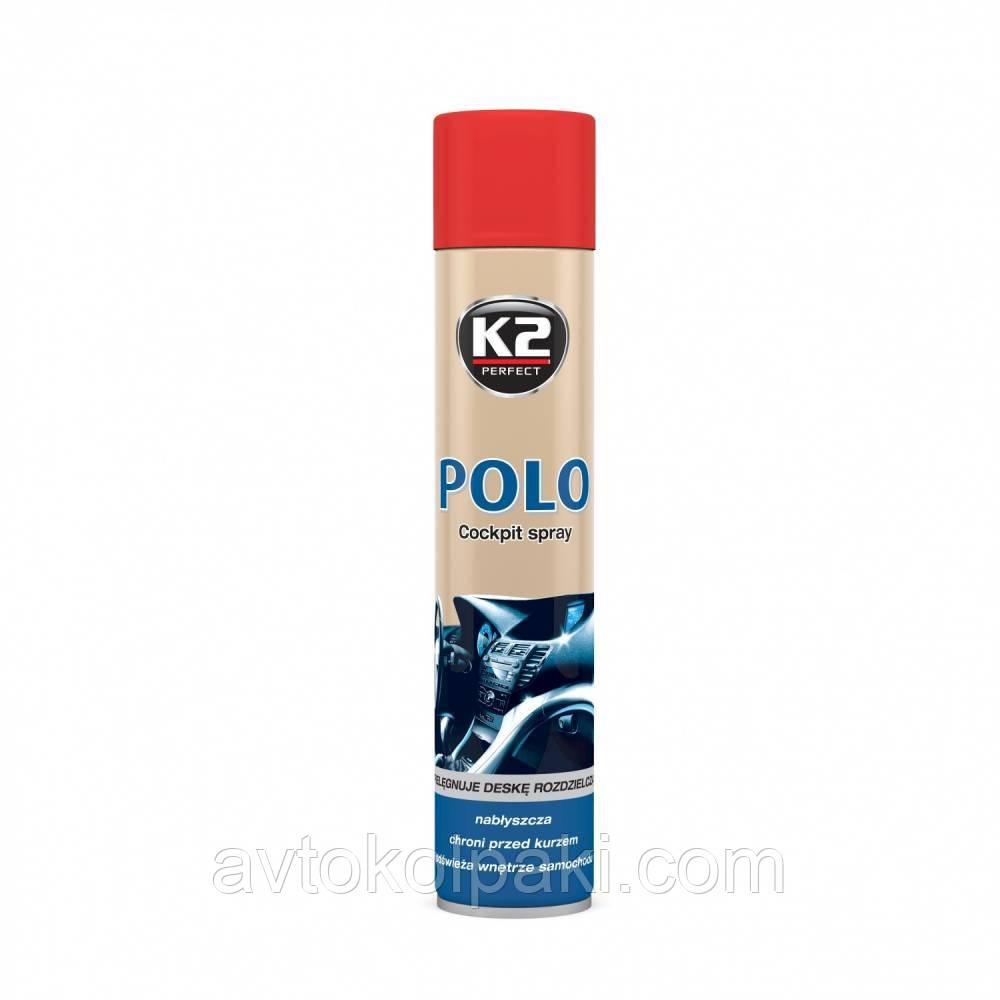 Полироль пластика  600 ml K2 POLO Клубника