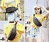 Поясные молодежные сумки-бананки  Бао Бао, сумка бананка через плечо женская, фото 10