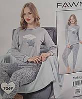 Пижама из плотного хлопка, Fawn