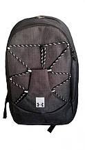 Рюкзак спортивный черный, Рюкзак на 2 отделения 032S