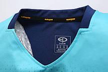 Футбольная форма Europaw 024 т.сине-бирюзовая, фото 2