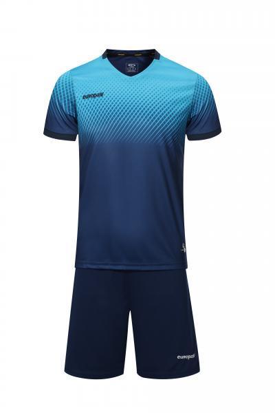 Футбольная форма Europaw 024 т.сине-голубая