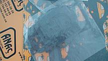 02/201851, 02/202524, 02/201965, 02/201931 Нижний комплект прокладок АK на JCB 3CX, 4CX, фото 2