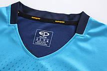 Футбольная форма Europaw 024 т.сине-голубая, фото 3