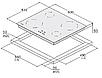 Варочная панель Fabiano FHI 2933 VTC индукционная (стеклокерамика), фото 6