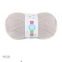 Пряжа Nako Bonbon Ince 98330 (нитки для вязания Нако БонБон Инке. Нако Бон бон) 100% акрил