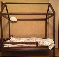 Детская Кроватка Домик с горизонтальным бортиком, фото 1