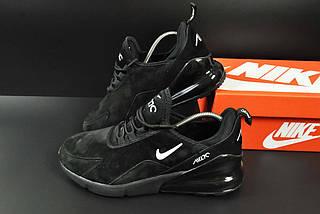 Кроссовки Nike Air Max 270 арт 20646 (мужские, черные, найк), фото 2