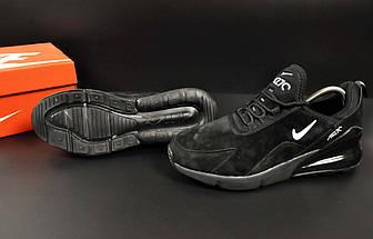 Кроссовки Nike Air Max 270 арт 20646 (мужские, черные, найк), фото 3