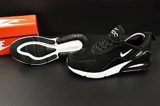 Кроссовки Nike Air Max 270 арт 20645 (мужские, черные, найк), фото 3
