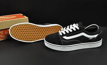 Кеды Vans Old Skool арт 20639 (мужские, черные, ванс), фото 3