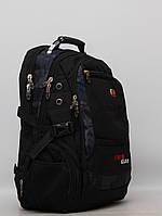 Мужской повседневный городской рюкзак с отделом под ноутбук Swissgear