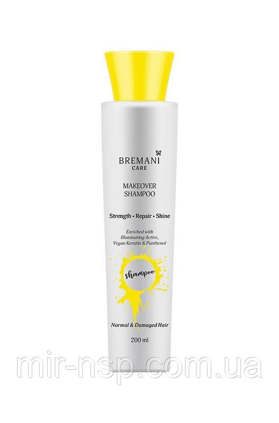Шампунь «Перевоплощение волос. Сила, сияние и гладкость» Makeover Shampoo. Normal & Damaged Hair NSP