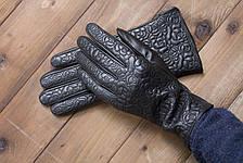 Женские кожаные сенсорные перчатки 1-947s1, фото 3