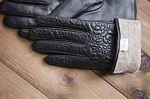 Женские кожаные сенсорные перчатки 1-947s1, фото 2