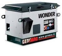 Трёхфазная бензиновая электростанция GENMAC Wonder в капоте