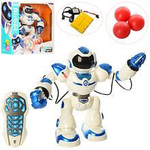 Робот 1029A радиоуправление,аккум,41см,муз,зв(англ),св,ходит,танц,стрел.шарик(3шт),USBзар,кор,49-50-19,5см