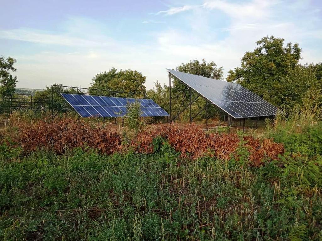 """Балта солнечная электростанция под """"зеленый"""" тариф мощностью 40 кВт Risen + Huawei Одесская область"""