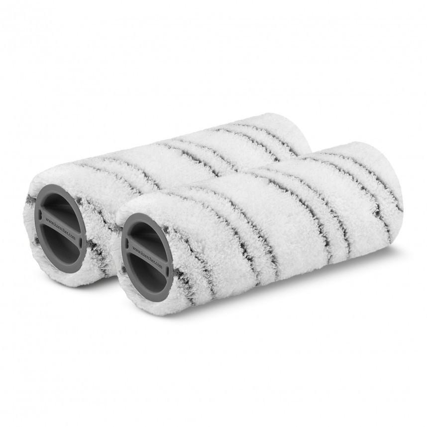 Комплект роликовых падов для Karcher FC 5 Premium (серые)