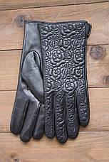 Женские кожаные сенсорные перчатки 1-947s2, фото 3