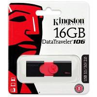 Модуль FD 16GB KINGSTON Flash Drive DT106 USB 3.0 (DT106/16GB), Read up to 100 Мбайт/сек.