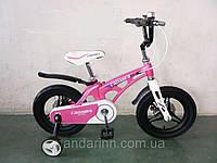 """Детский Велосипед """"Crosser-16"""" Розовый. Суперлегкий. Магнезиум сплав., фото 1"""
