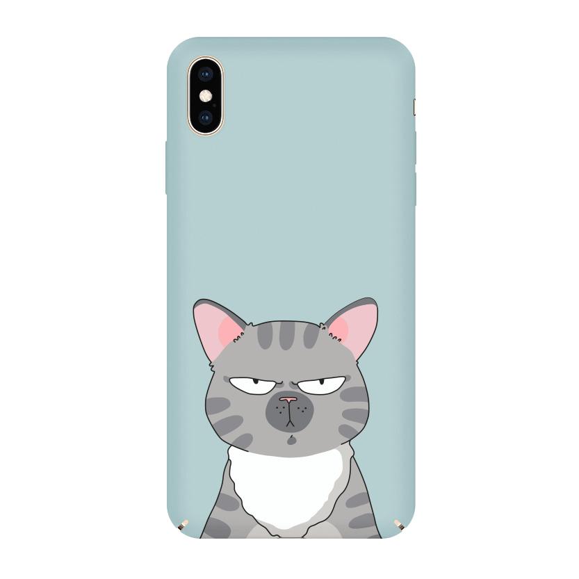 Pump Tender Touch Case чехол для iPhone XS MAX Serious Cat