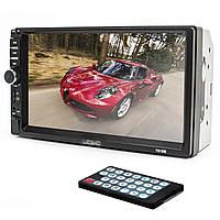 "➤Магнитола 2 din 7"" Lesko 7018B WinCE MP4 2 Din цветной экран Bluetooth 4х45 Вт mp5 USB AUX пульт ДУ в машину"