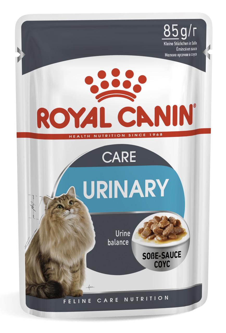 Влажный корм для поддержания здоровья мочевыводящих путей кошек Royal Canin Urinary Care 85 г