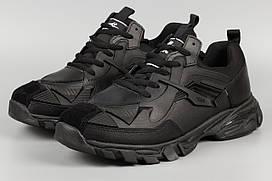 Кросівки чоловічі чорні Bona 761C Бона Розміри 44