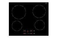 Варочная панель Fabiano FHE 1844 VTC2 черная электрическая (стеклокерамика)