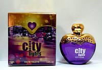 Женская туалетная вода city lights-n 100 ml