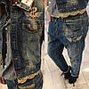 Женские джинсы №92-5370/001