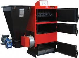 Стальной  твердотопливный котел с автоматической подачей топлива Roda RK3G/S-40